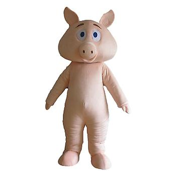 mascot pig pink, completely customizable on our SPOTSOUND site SPOTSOUND