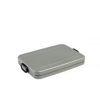 Mepal Lunchbox Registerkarte Wohnung-Silber