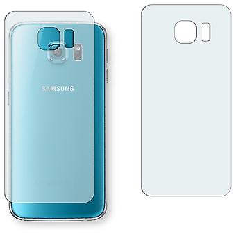 Samsung Galaxy S6 duos (G9200) back screen protector - Golebo crystal-clear protector (miniature sheet)