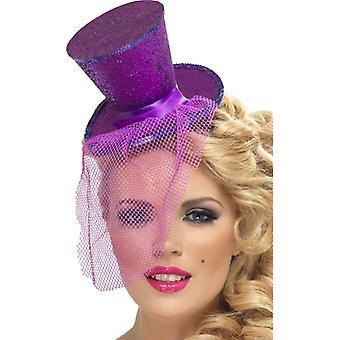 Fieber Mini Top Hat auf Stirnband, Einheitsgröße