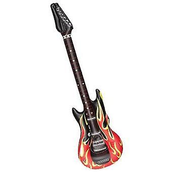 Oppblåsbare gitar.