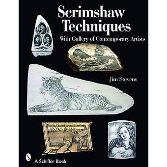 Scrimshaw Techniques by Jim Stevens - 9780764328312 Book