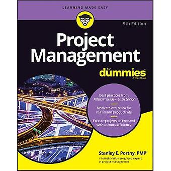 Project Management For Dummies by Consumer Dummies - 9781119348900 Bo