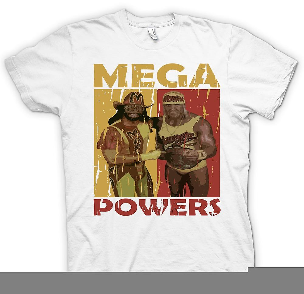 Womens T-shirt - Mega Powers Classic Wrestling