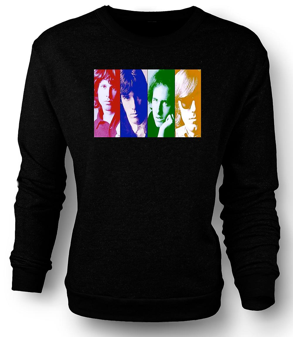 Mens Sweatshirt The Doors - Collage - Pop Art