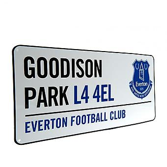 Everton FC Official Street Sign