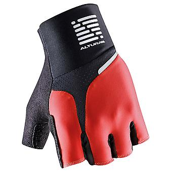 Altura Red-Black 2016 Podium Progel Fingerless Cycling Gloves