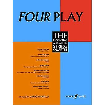 Fyra Play: stråkkvartett (delar) (Faber Edition)