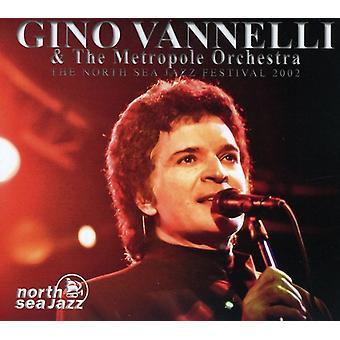 Gino Vannelli & Metropole Orchestra - North Sea Jazz Festival 2022 [CD] USA importerer