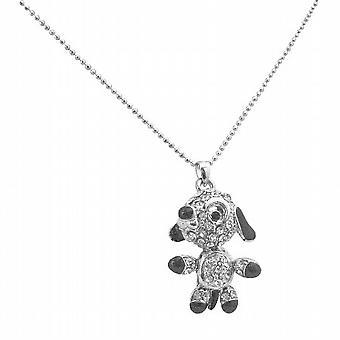 Movable Legs Tail Arm Cute Dog Pendant Lovable Pet Dog Necklace