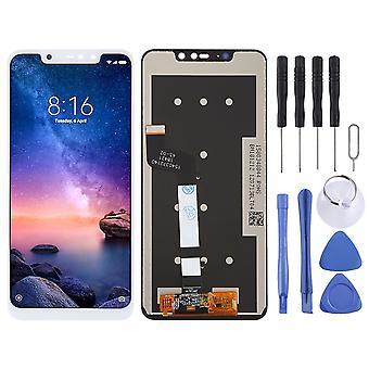 Für Xiaomi Redmi Note 6 Pro Display Full LCD Einheit Touch Ersatzteil Reparatur Weiß Neu