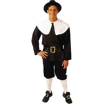 Klassische Pilger Erwachsenen Kostüm
