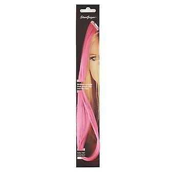 Stargazer Baby Clip In Hair Extensions ~ Hot Pink