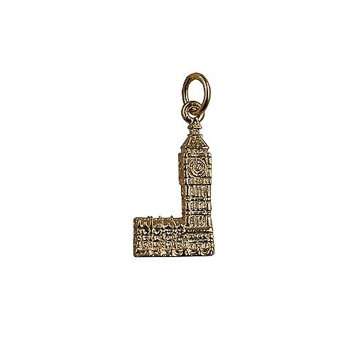 9ct Gold 20x11mm Big Ben Pendant or Charm