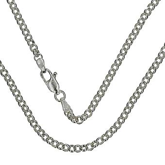 TOC Unisex Sterling Silver 14 Gram Rolo Chain 20