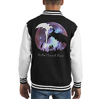 How to Train Your Dragon The Hidden World Moon Romance Kid's Varsity Jacket