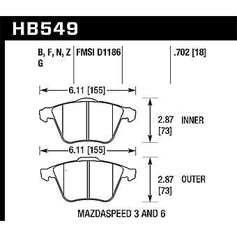 Hawk Performance HB549F.702 HPS