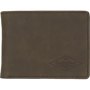 Quiksilver mens Slim Vintage III bi Fold plånbok-chokladbrun