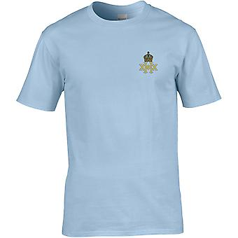20th Hussars - Licensed British Army Embroidered Premium T-Shirt