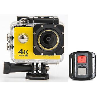 Hd 4k wifi action camera 1080p 60fps mini cam 30m waterproof go sport dvr extreme pro cam yellow