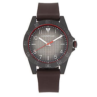 Morphic M84 Series Strap Watch - Dark Brown