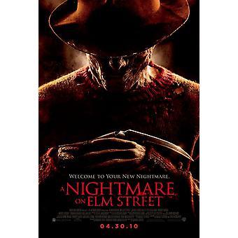 Ein Alptraum auf Elm Street Poster - (Jackie Earle Haley, Clancy Brown) doppelseitig regelmäßig uns ein Blatt (2010) Original Kino-Poster