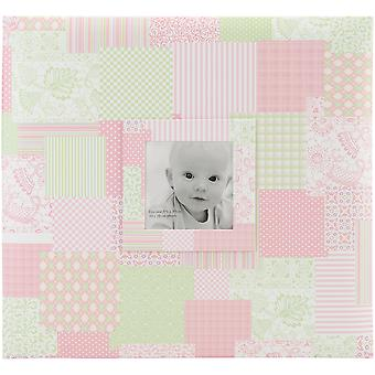 Baby Post Bound Scrapbook W/Window 12