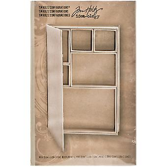 Idea Ology Configurations Mini Chipboard Shadow Box Book 6