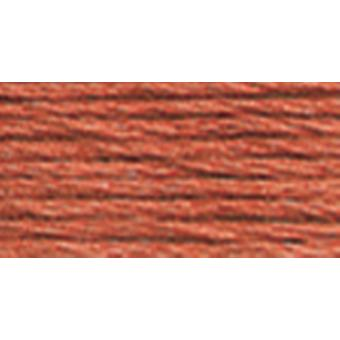 Dmc Tapestry & Embroidery Wool 8.8 Yards Dark Red Clay 486 7168
