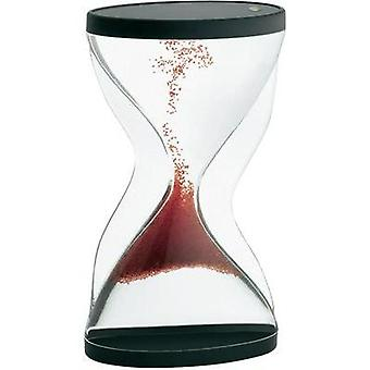 Hourglass TFA 18.6004.05 Acrylic glass (clear), Red, Black