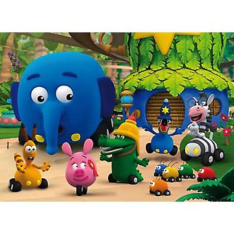 Clementoni Puzzle 60 pieces Jungle on Wheels (Spielzeuge , Brettspiele , Puzzles)