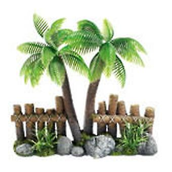 Classic For Pets Cocoa Tree Fence/Plant2pc (Fish , Decoration , Ornaments)