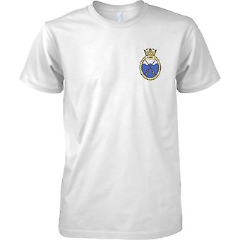 HMS X Craft - Decommissioned Royal Navy Ship T-Shirt Colour