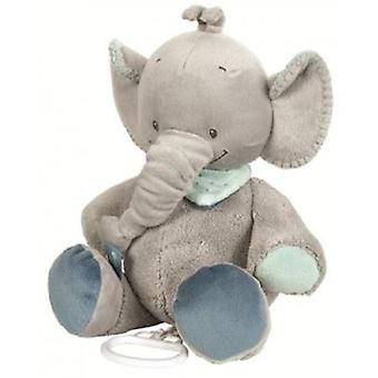 Nattou Musical Jack Elephant (Babies , Toys , Stuffed Animals)