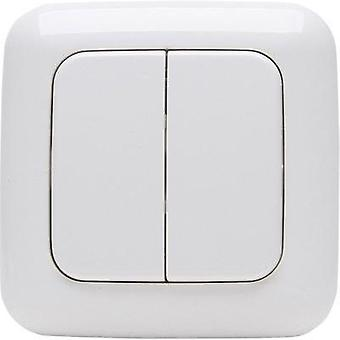 Free Control Wireless wall-mounted switch 4-channel Arctic white