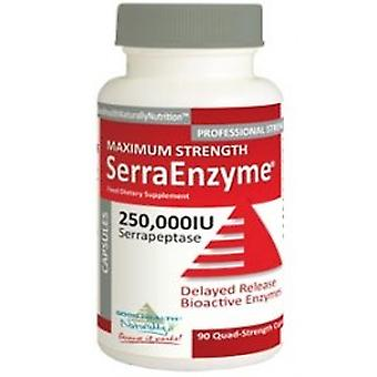 Good Health Naturally - SerraEnzyme 250,000iu Serrapeptase 90Vcaps