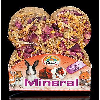 Quiko små dyr Mineral Stone blomst Mix 90g (pakke med 12)