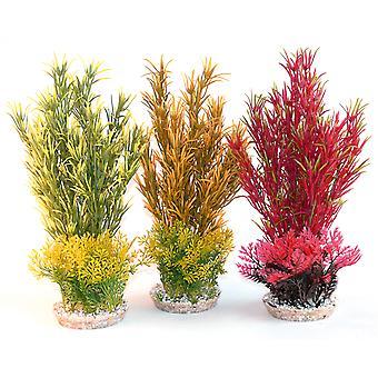 Sydeco gekleurde planten zee gras reus 42cm (pakje van 8)