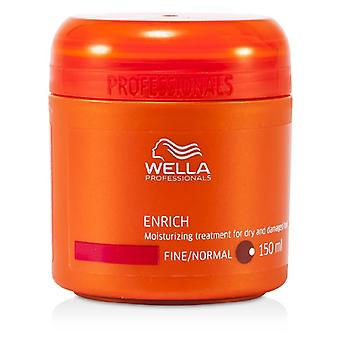 Wella Enrich Moisturizing Treatment for Dry & Damaged Hair (Fine/Normal) 150ml/5oz