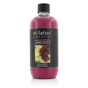 Millefiori Natural Fragrance Diffuser Refill - Grape Cassis 500ml/16.9oz