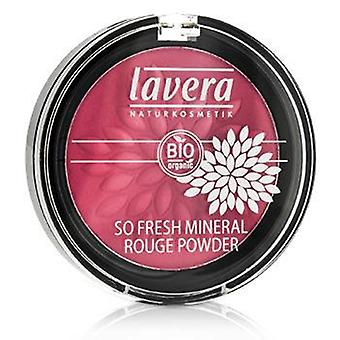 Lavera So Fresh minérale Rouge Powder - # 04 rose Harmony Velvet - 5g / 0,2 oz