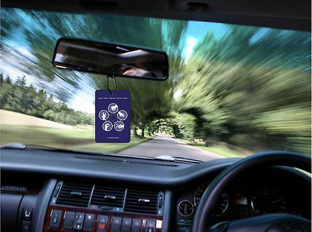 Rock Paper Scissors Lizard Spock Car Air Freshener