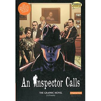 An Inspector Calls the Graphic Novel: Original Text (Paperback) by Priestley J. B. Volley Will Cobley Jason