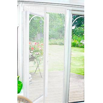 Country Club Insect Guard magnetische deur scherm 90 x 210cm, wit