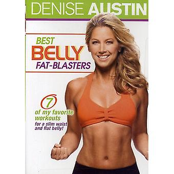 Denise Austin - Best Belly Fat-Blasters [DVD] USA import