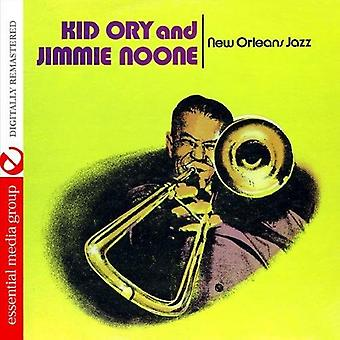 Kid Ory & Jimmie Noone - New Orleans Jazz [DVD] USA importerer