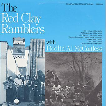 Red Clay Ramblers mit Fiddlin' Al McCanless - Red Clay Ramblers mit Fiddlin' Al McCanless [CD] USA import