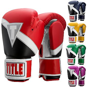 Title Boxing Classic Revive Hook and Loop Training Gloves