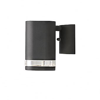 Konstsmide Modena Single Wall Light Black