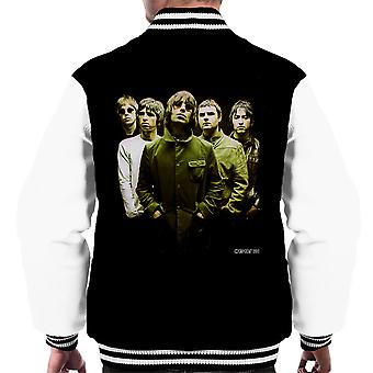 Oasis Band Liam Noel Gallagher Men's Varsity Jacket